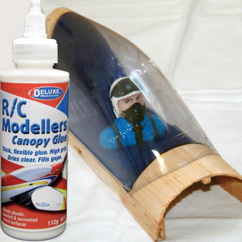 AD12 R/C Modellers Canopy Glue 112g & Deluxe Materials Supercheap Hobbies